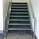 Office Stairwell - structural design, construction and finishes